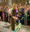 Charlotte Church Cuts The Ribbon